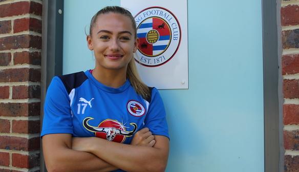 Welsh international Charlie Estcourt Re-Signs with Reading FC Women