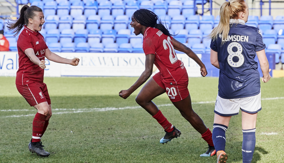 Match report: Reds surge into FA Cup quarter-finals