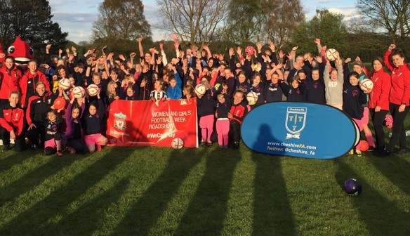 Lymm Rovers JFC announced as Reds Fifth Sister Club