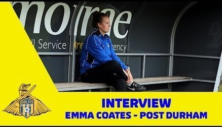 Emma Coates Post Durham