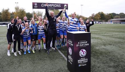 Champions FA WSL 2 2015