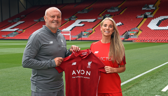 Photo gallery: Reds complete signing of Linnett