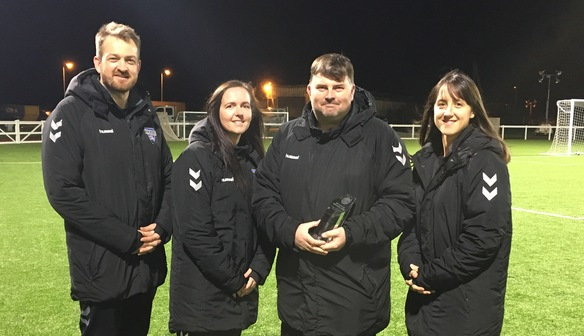 NEWS: Sanders Scoops Manager of the Month