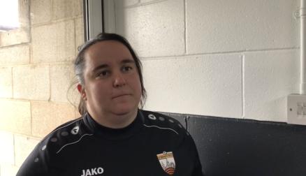 Reaction | Sian Osmond following defeat at Durham