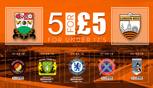 News | 5 for £5 for Under 17's!