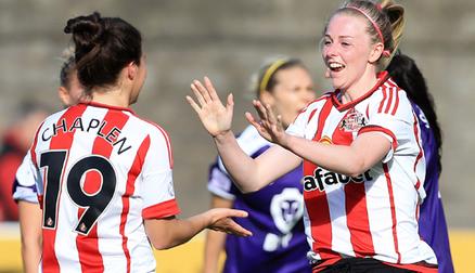 Sunderland's Emily Russell