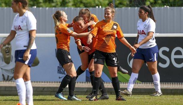 Report   Spurs Ladies 1-1 Bees