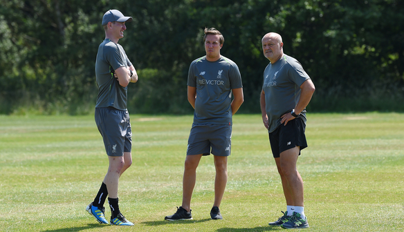 Reds confirm backroom staff ahead of new season