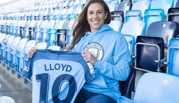 Man City sign World Player of the Year Carli Lloyd