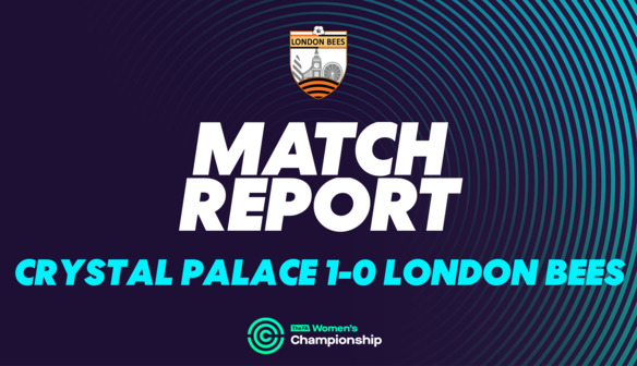 Report | Crystal Palace 1-0 London Bees