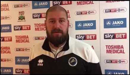 Lee Burch post London Bees 4-3 Victory