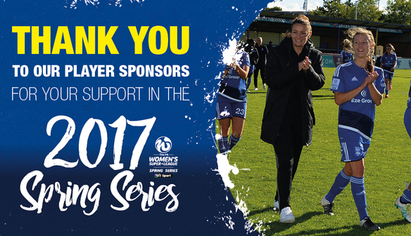 PLAYER SPONSORS REWARDED AT SPRING SERIES FINALE
