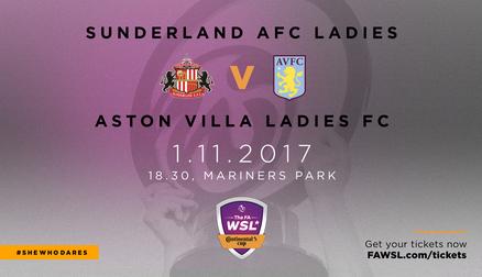 SAFC Ladies v Aston Villa