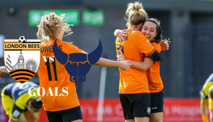 Goals | London Bees 3-1 Oxford United Women