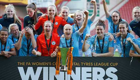 Manchester City have won the Conti Cup for the third time