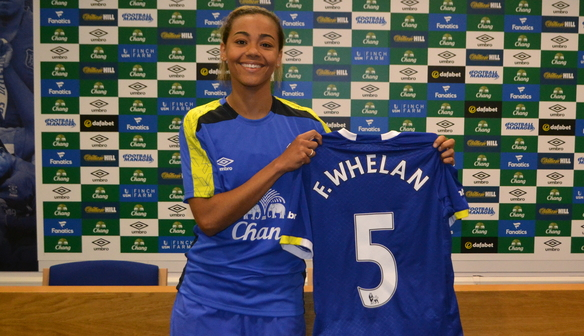 Whelan Glad To Be Back In Blue At Goodison
