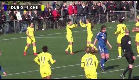 HIGHLIGHTS: Durham 0-1 Chelsea Women
