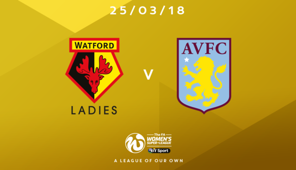 Aston Villa Match Confirmed
