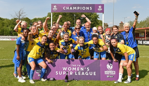 WSL 2 champs Doncaster round off the season in style