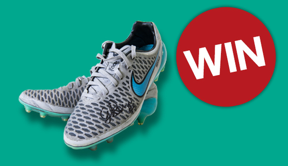 Win a pair of boots signed by Gemma Bonner