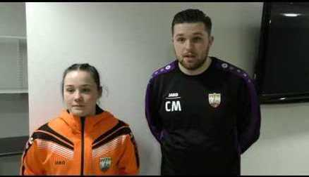 Interview | Shayla Burgess on making her debut & Head of Goalkeeping Craig McCreeth