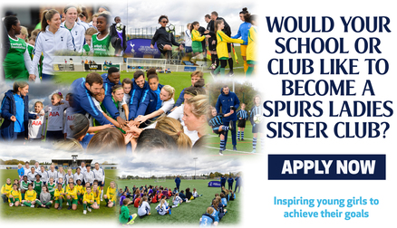 Spurs Ladies Sister Club Programme