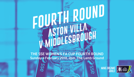 FA Cup Fourth Round vs Middlesbrough