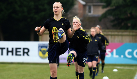 Oxford United Women Aim High