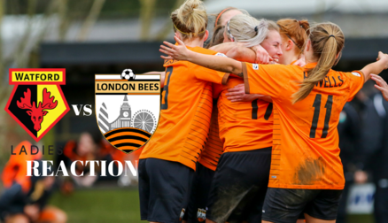 Reaction | Watford Ladies 2-3 London Bees