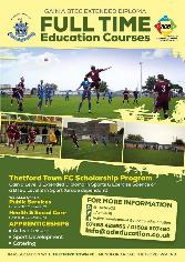 Thetford Town FC  Scholarship Programme - news image