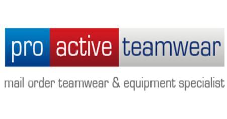 Sponsor - Proactive Teamwear