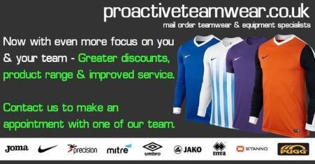 Sponsor Message - Proactive Teamwear