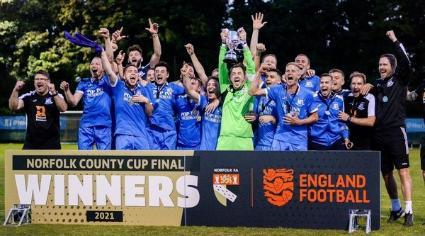 Wells Town win Norfolk Junior Cup