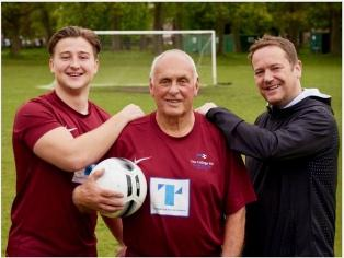 SUNDAY LEAGUE DEBUT ON 80TH BIRTHDAY image