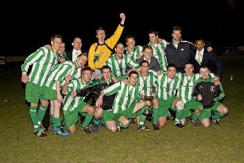 New Bohemians - League Cup Winners 09-10 - news image