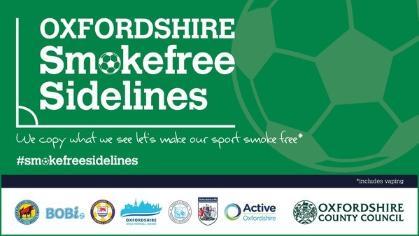Oxfordshire Smokefree Sidelines - news image
