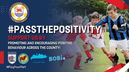 #PassThePositivity launch - news image