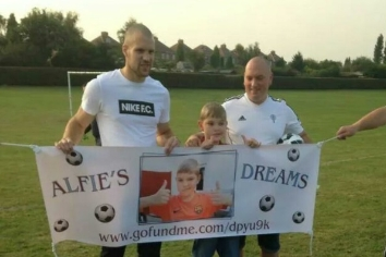 Alfie Young Charity Match - news image
