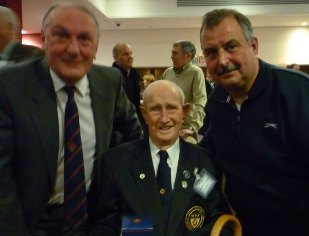 Tom Brocklehurst's 100th Birthday - news image