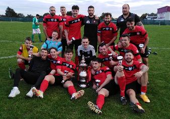 Gravesend United win League Cup A - news image