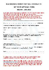 PLAYER NOTICE OF APPROACH FORM - news image