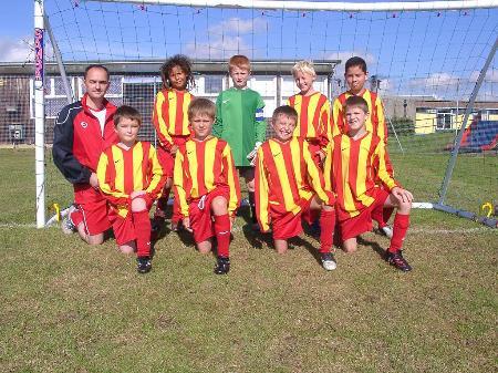 South Swindon U10's Team Photo