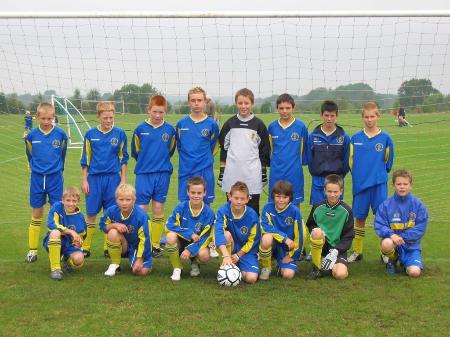 Wootton Bassett Town U13 Season 2005/6