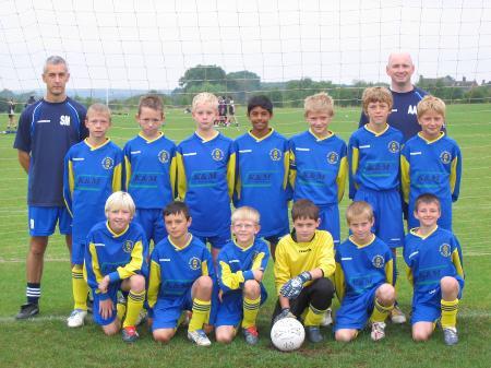 Wootton Bassett Town U11 Season 2005/6