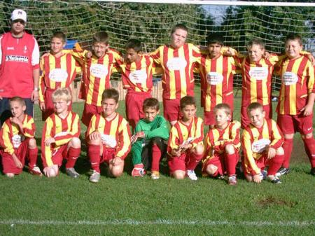 South Swindon U12's Team Photo