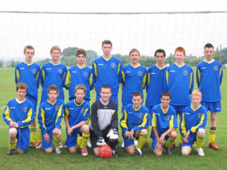 Wootton Bassett Town U15 Season 2005/6