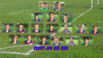 Croft Jnrs u12 Red