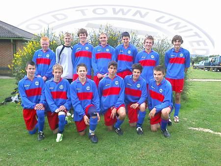 Old Town Utd under 16's