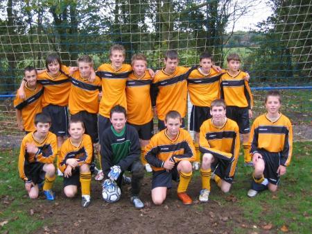 Blunsdon Colts U14 Team Picture