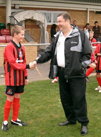 New kit for CTFC under 12's